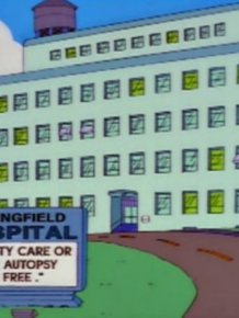 "Funny Signs On ""The Simpsons"""