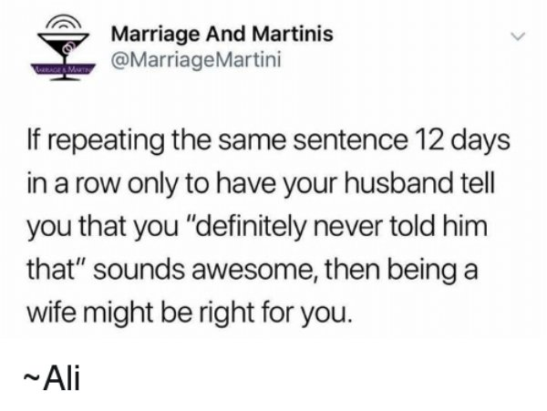 Memes About Married Life, part 2