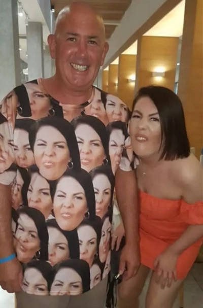 Father Gave This Swimsuit To His Daughter To Scare Horny Stares Away From Her