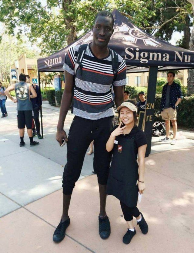 When Tall People Meet Short People