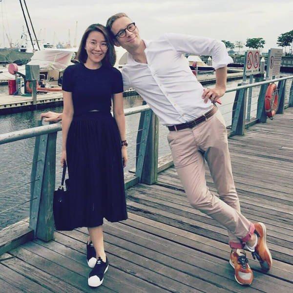 When Tall People Meet Short People