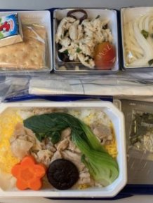 Business Class Food Vs. Economy Class Food