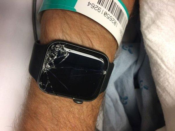 Biker Is Rescued By His Apple Watch
