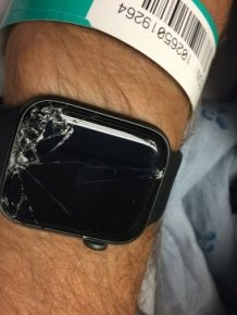 Biker Is Rescued By His Apple Watch
