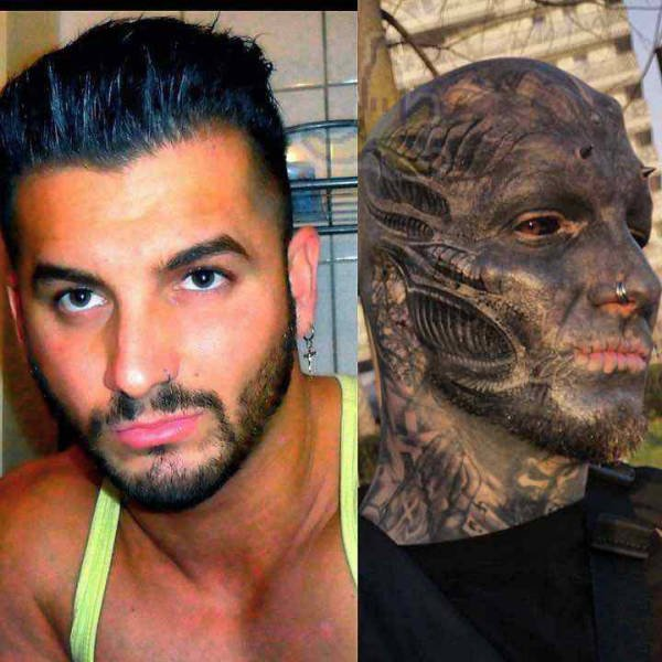Guy From France Turned Himself Into An Alien
