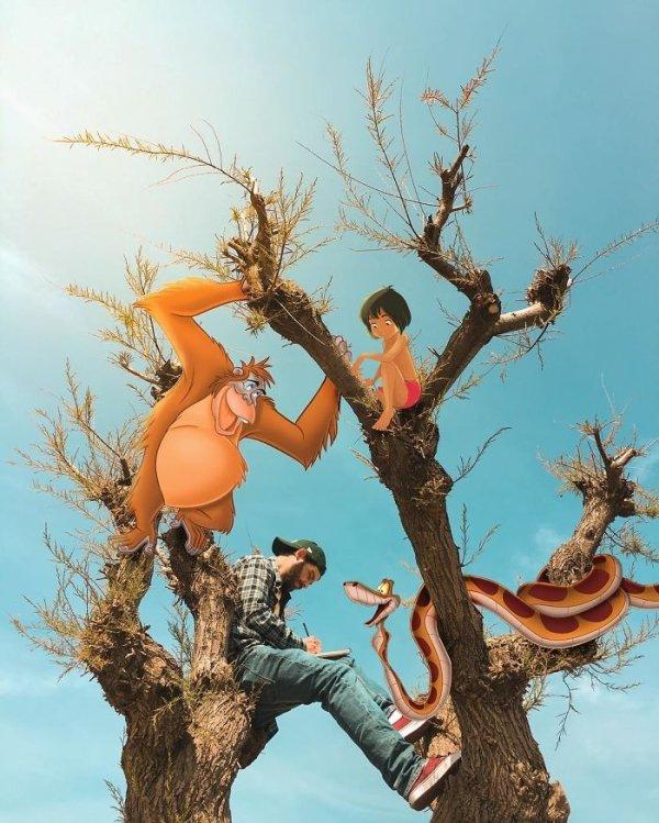 Graphic Designer And Illustrator Luigi Kemo Volo Combines Reality And Cartoons