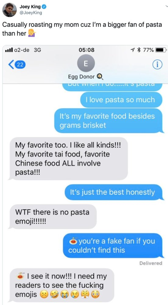 Celebrities Share Texts From Their Parents