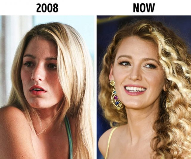 Pics oF Celebs At The Start Career And Nowadays