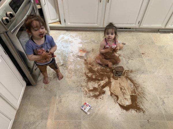 Kids Mean Mess