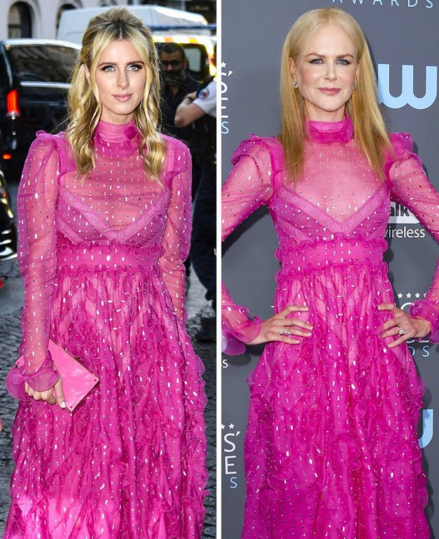 Celebs In Identical Outfits