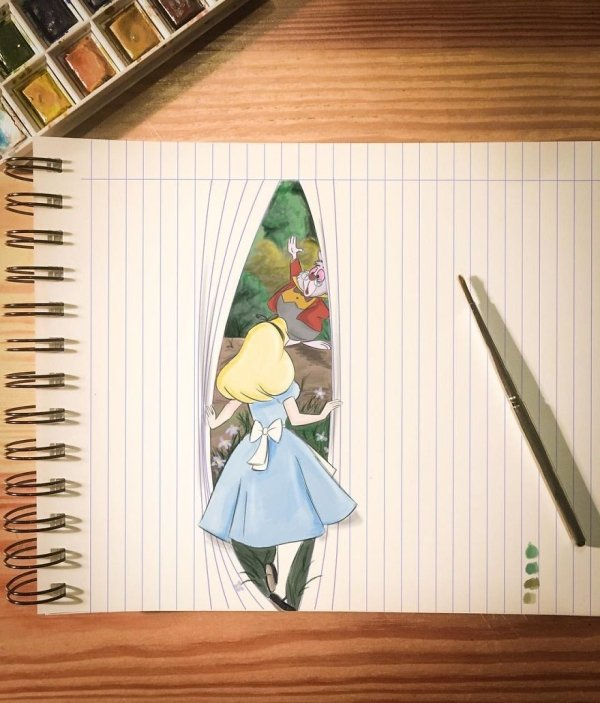 Almost Lively 3D Illustrations
