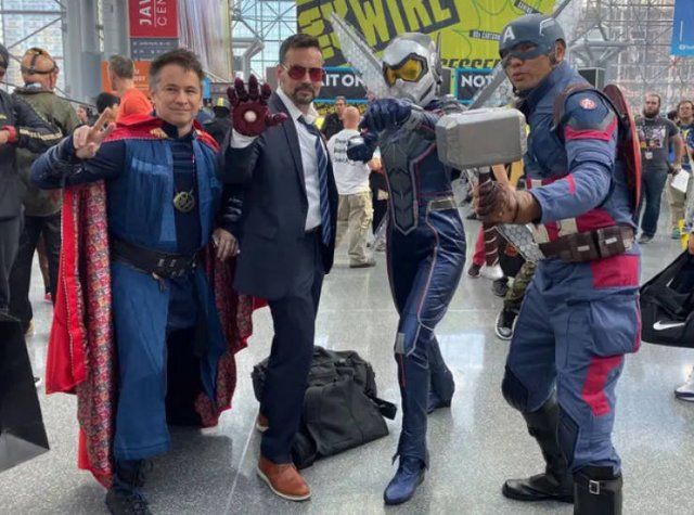 Cosplay At The New York Comic Con