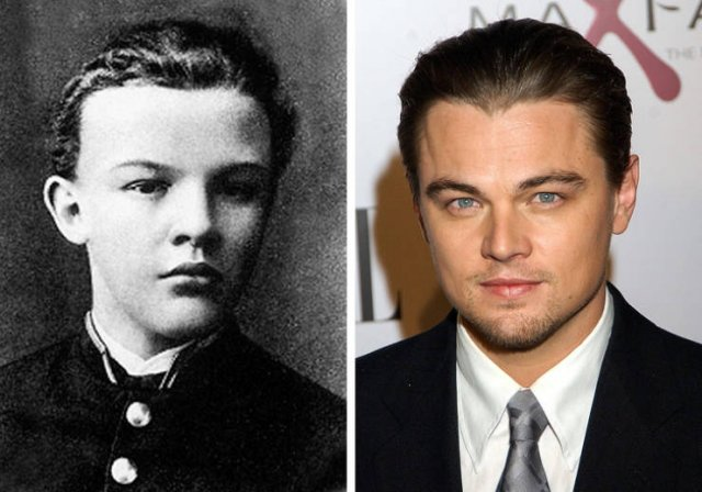 Celebrities In A Past Life