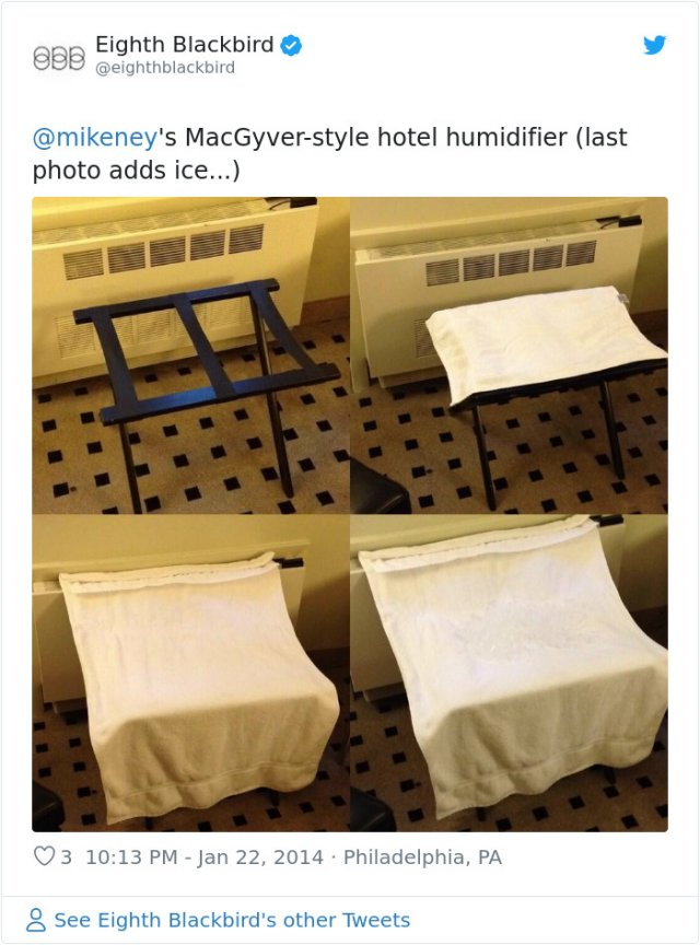 Life Hacks For Hotel Room