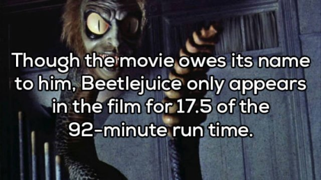 Beetlejuice's Horrible Facts