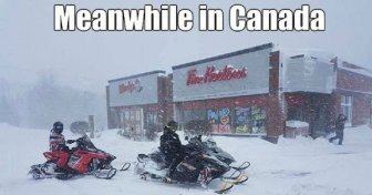 Meanwhile In Canada...