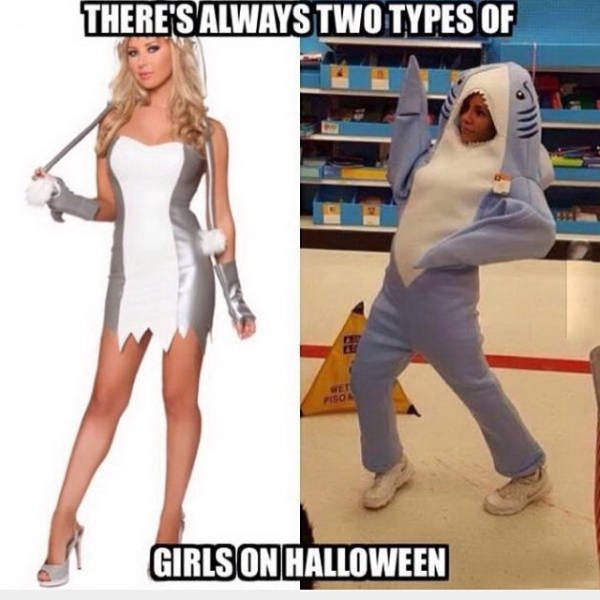 Two Types Of Halloween Costumes
