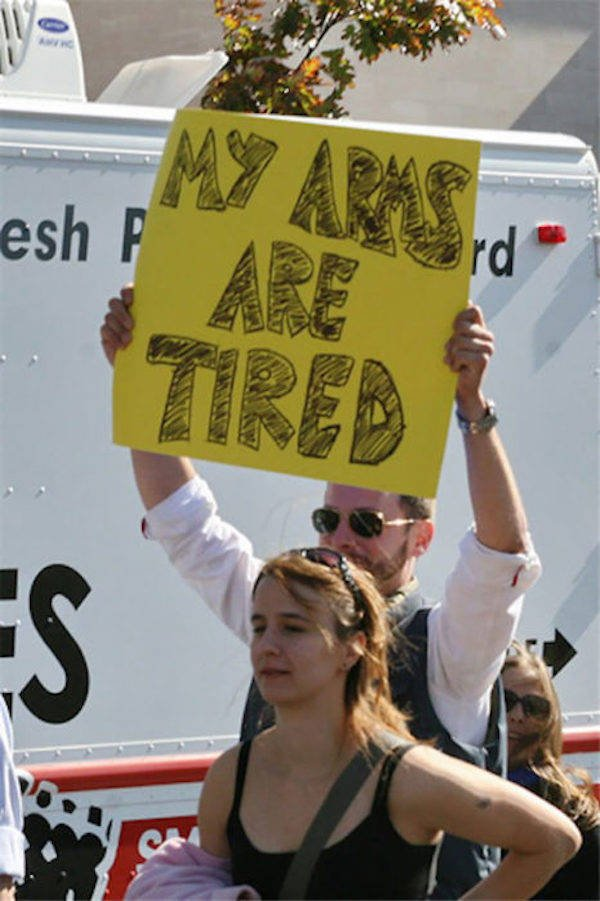 Amusing Protests