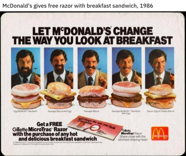 80's Fast Food Photos