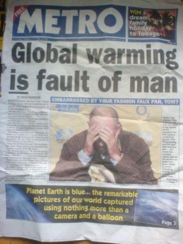 Fails In Newspaper Articles