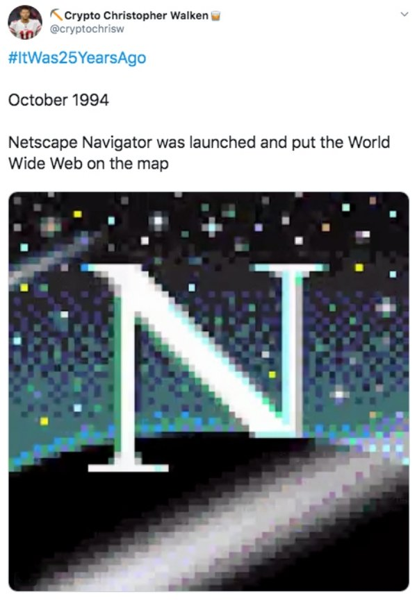 It Was 25 Years Ago