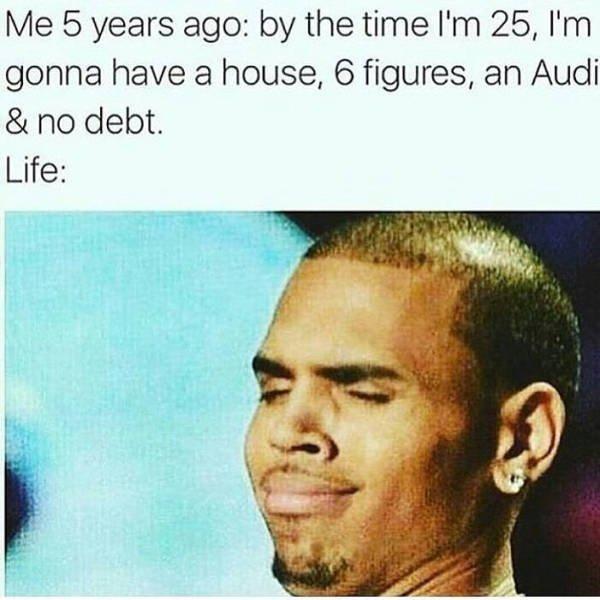 Quarter-Life Crisis Memes
