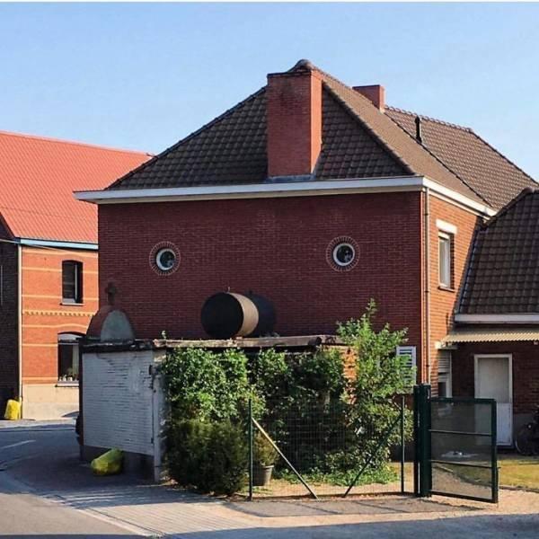 Strange Belgian Houses