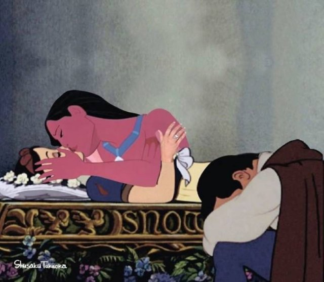 Not Your Normal Disney Characters