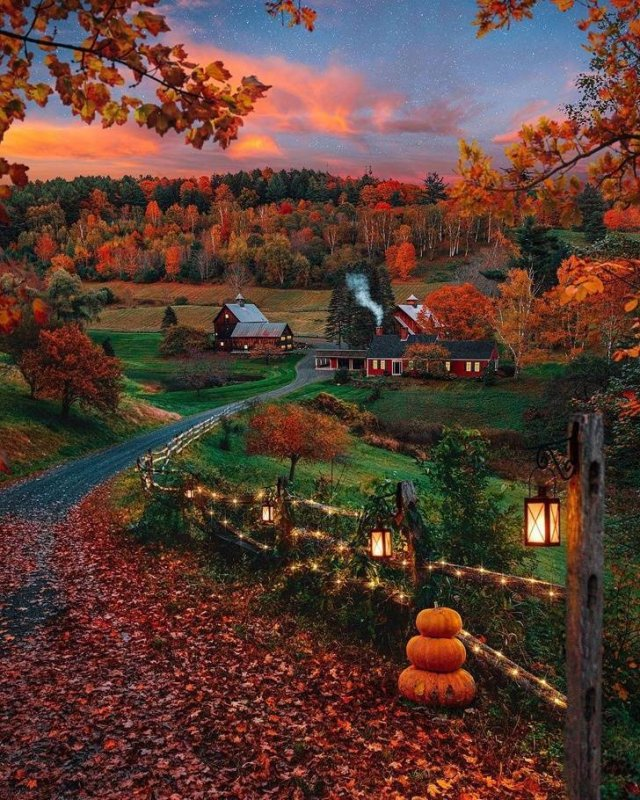 Beautiful Fall Across The World