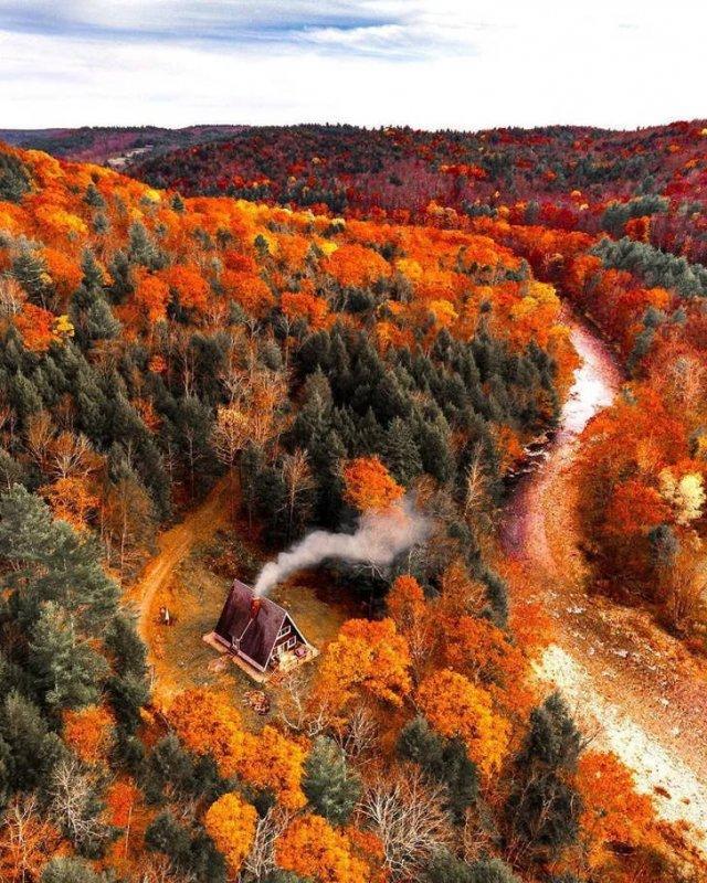 Beautiful Fall Across The World