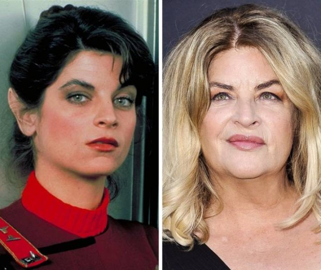 Old Vs. New Photos Of Famous People