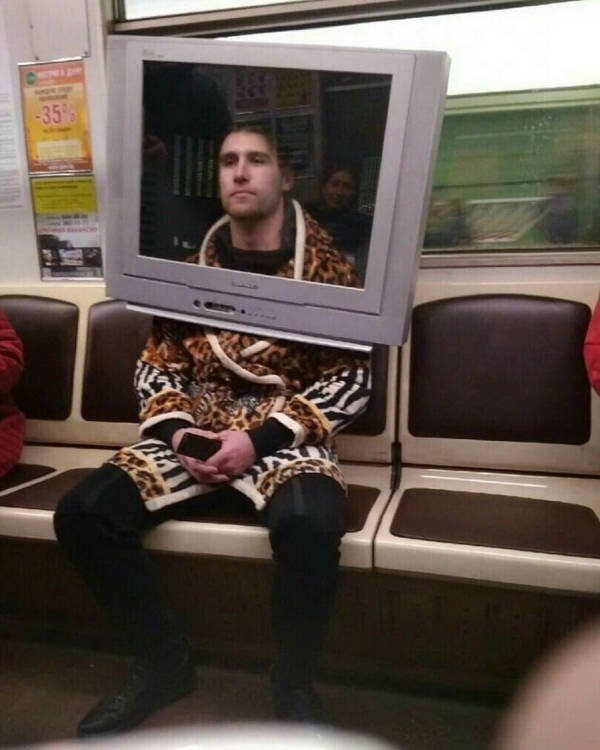 Funny And Strange Things On the Subway