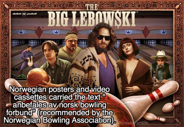 Lebowski Facts