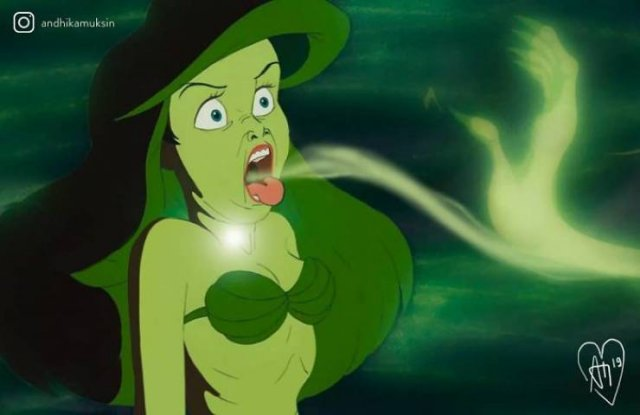 If Disney Princesses Were More Realistic