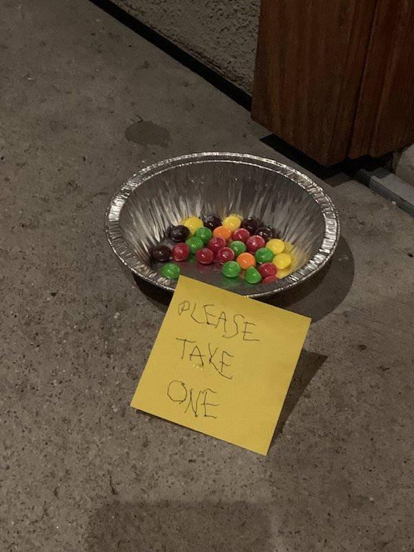 Weird Halloween Giveaways