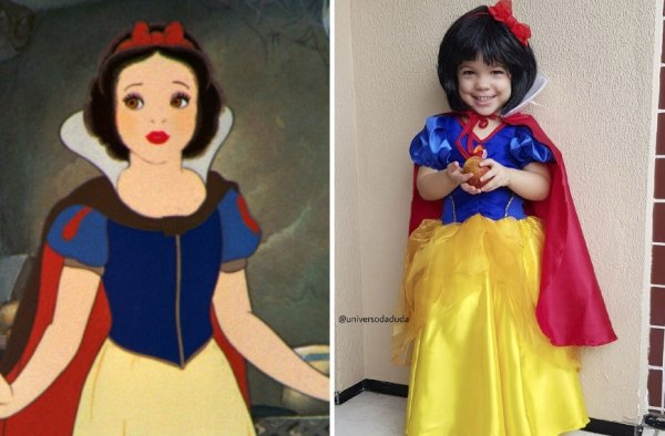 Cute Cosplay From Little Girl