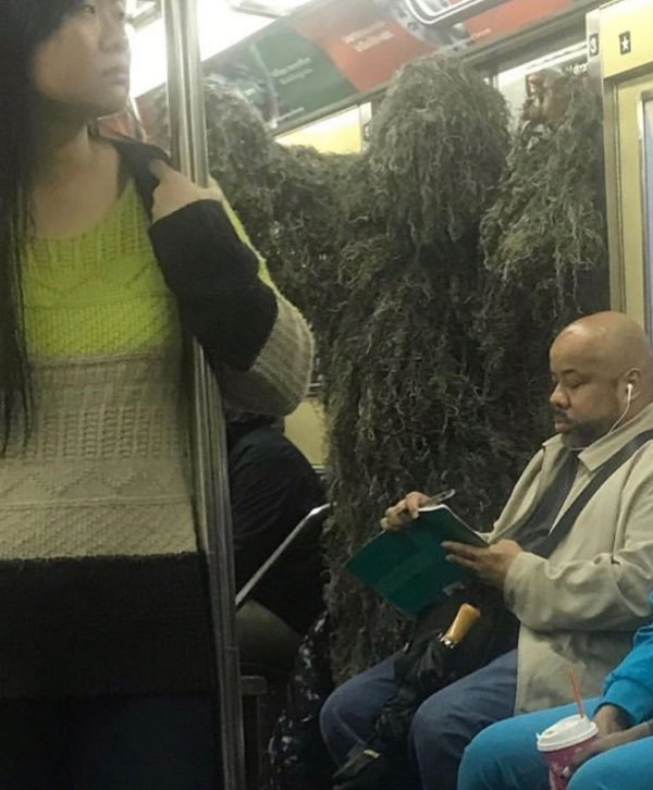 Funny And Strange Things On The Public Transport
