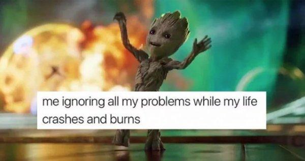 Stress memes