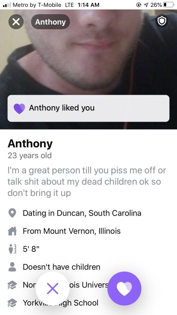 Weird Profiles On Tinder