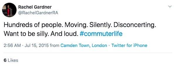 Commuter Life Tweets