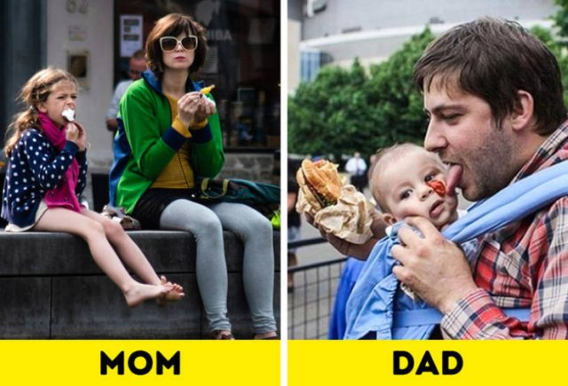 Difference Between Moms And Dads
