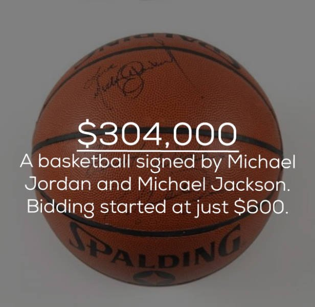 Things Signed By Celebs Can Be Very Expensive