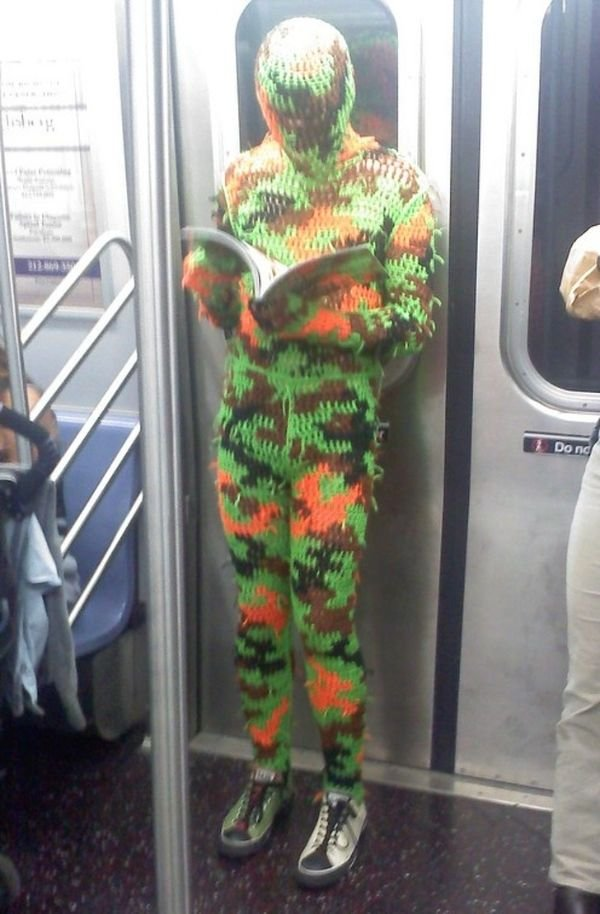 Funny And Strange Things On the Subway, part 2