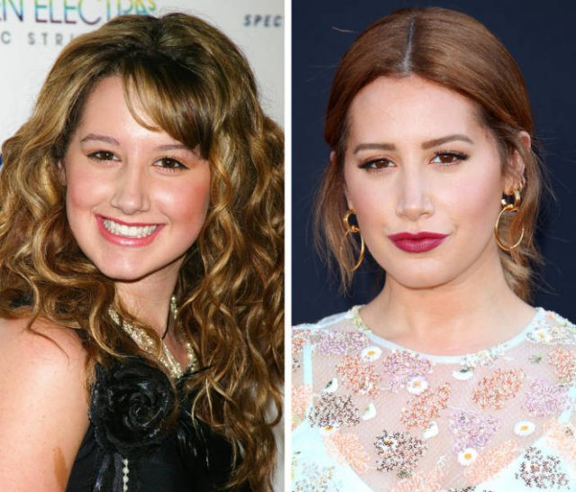 Disney Child Stars Then and Now