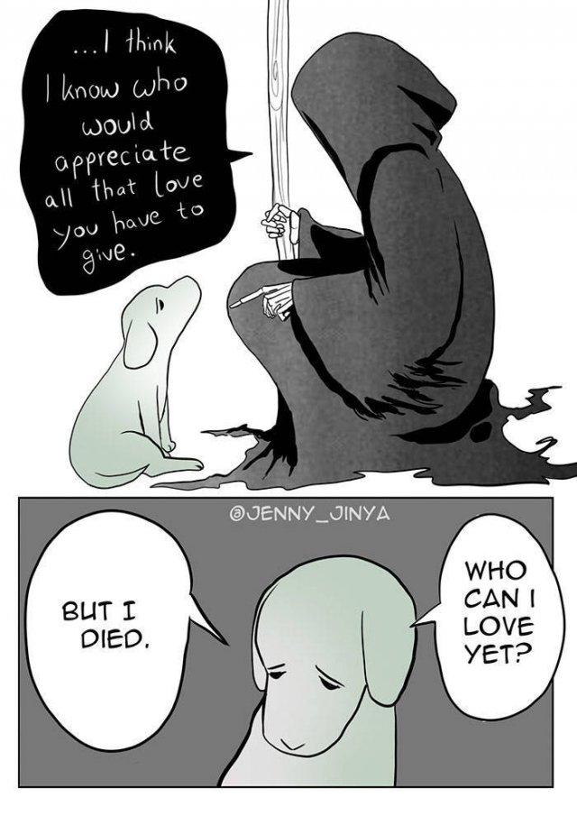 Comics About Death And Pets