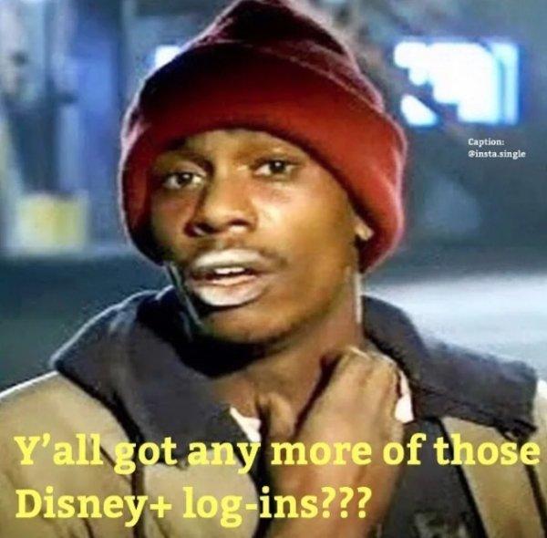 """Disney Plus"" Memes"