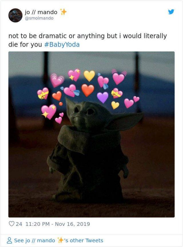 Very Cute Baby Yoda