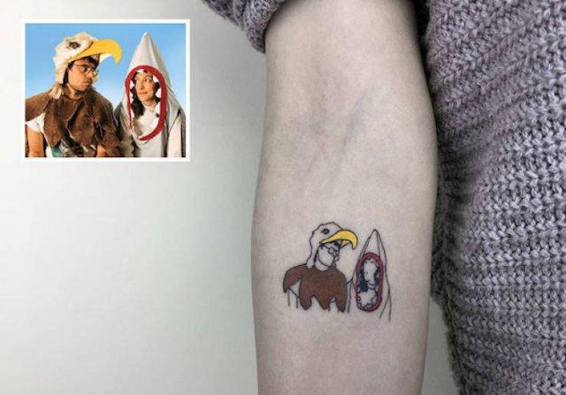 Incredible Minimalist Tattoos