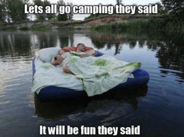 Camping Memes