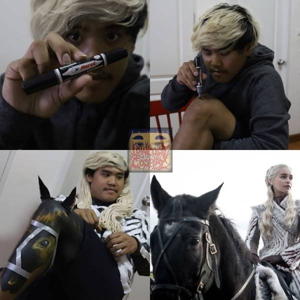 Lowcost Cosplay By Anucha Saengchart